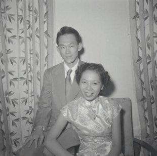 Lee Kuan Yew and Kwa Geok Choo
