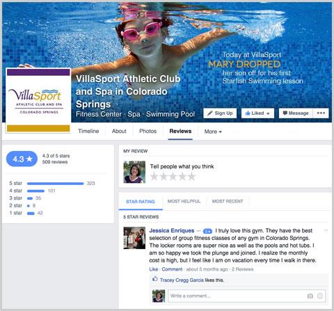 ธุรกิจท้องถิ่นบน Facebook