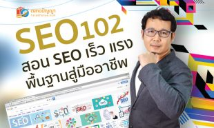 คอร์สออนไลน์ : SEO 102 : สอน SEO เร็ว แรง พื้นฐานสู่มืออาชีพ