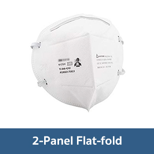 Particulate Respirator 2-Panel Flat-Fold
