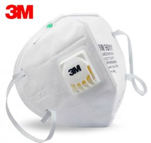 Sample 3M mask with CoolFlow