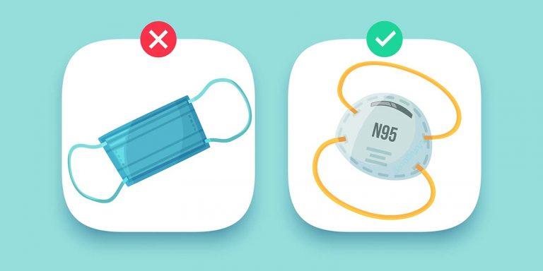 วิธีเลือกหน้ากาก N95
